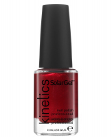 Kinetics - SOLAR GEL NAIL POLISH - Lakier do paznokci - System Solarny - 234 RED GOWN - 234 RED GOWN