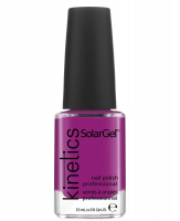 Kinetics - SOLAR GEL NAIL POLISH - Lakier do paznokci - System Solarny - 350 PURPLE HAZE - 350 PURPLE HAZE