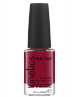 Kinetics - SOLAR GEL NAIL POLISH - Lakier do paznokci - System Solarny - 380 HEDONIST RED - 380 HEDONIST RED