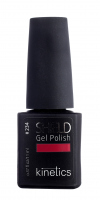 Kinetics - SHIELD GEL Nail Polish - 234 RED GROWN - 234 RED GOWN