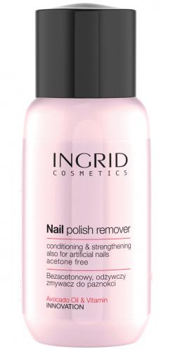 INGRID - NAIL POLISH REMOVER - Odżywczy zmywacz do paznokci bez acetonu - 150 ml