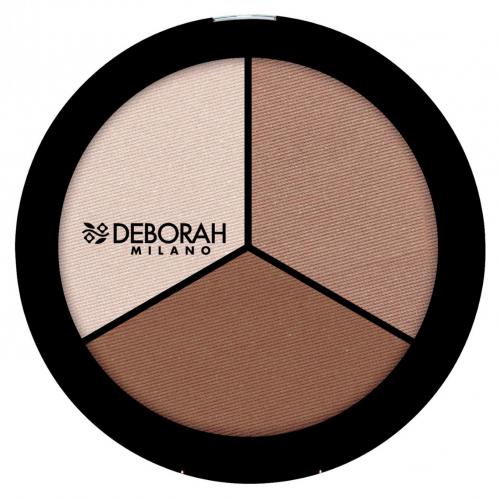 DEBORAH - Secrets Of Contouring - TRIO CONTOURING PALETTE