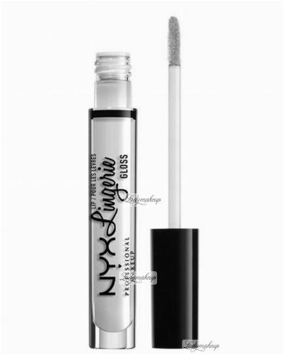 NYX Professional Makeup - Lingerie Gloss - CLEAR - Bezbarwny błyszczyk do ust