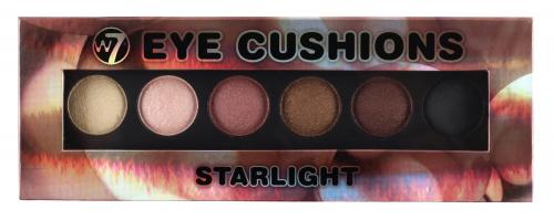 W7 - Eye Cushion - STARLIGHT - Paleta 6 cieni do powiek