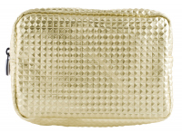 W7 - Large Cosmetic Bag - Crocodile Gold