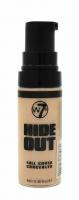 W7 - HIDE OUT - Full Cover Concealer - Korektor w płynie