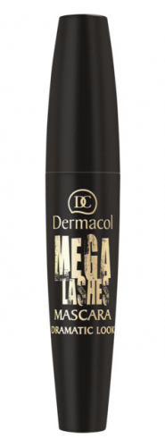Dermacol - MEGA LASH MASCARA - DRAMATIC LOOK - Zwiększający objętość tusz do rzęs