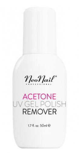 NeoNail - ACETONE - UV GEL POLISH REMOVER - Zmywacz do lakieru hybrydowego - 50ml - Art. 5146