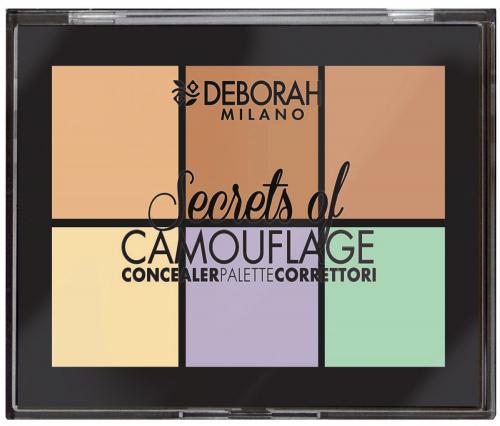 DEBORAH MILANO - Secrets Of Camouflage - CONCEALER PALETTE - Paleta korektorów do twarzy