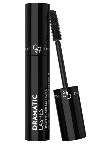 Golden Rose - DRAMATIC LASHES - NIGHT BLACK MASCARA