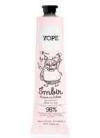 YOPE - NATURAL HAND CREAM - Ginger and sandalwood