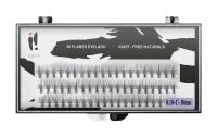 Ibra - ,,NATURALS'' FLARES EYELASH - Fake eyelash clusters - 0.10-C-10 mm - 0.10-C-10 mm