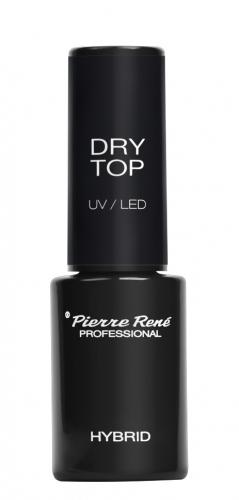 Pierre René - DRY TOP UV/LED - Suchy top do lakierów hybrydowych