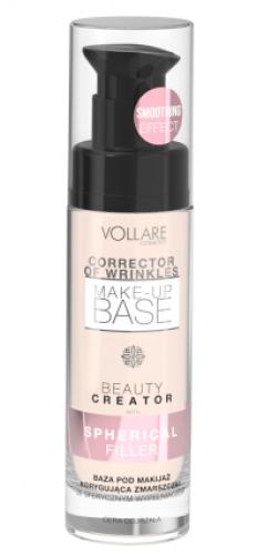 VOLLARÉ - CORRECTOR OF WRINKLES - MAKE-UP BASE - Baza pod makijaż wypełniająca zmarszczki