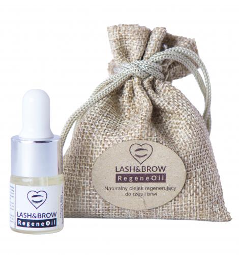 LashBrow - RegeneOil - Naturalny olejek do rzęs i brwi