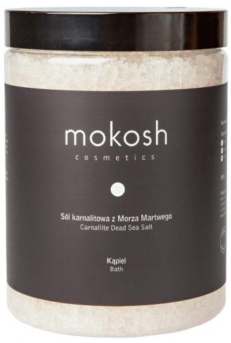 MOKOSH - CARNALLITE DEAD SEA SALT - Sól karnalitowa z Morza Martwego do kąpieli - 1000 g