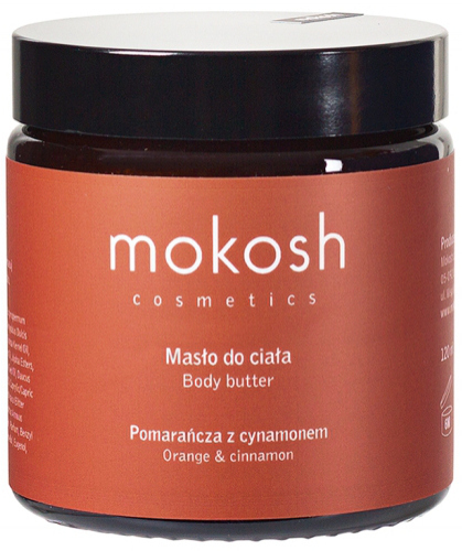 MOKOSH - BODY BUTTER - ORANGE & CINNAMON - 120 ml
