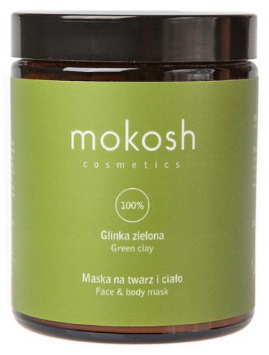 MOKOSH - GREEN CLAY - FACE & BODY MASK - Green clay - 180 ml