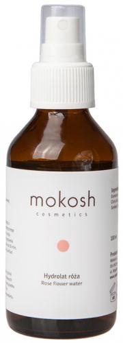 MOKOSH - ROSE FLOWER WATER - Hydrolat róża - 100 ml