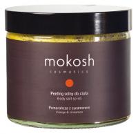 MOKOSH - BODY SALT SCRUB - ORANGE & CINNAMON - Peeling solny do ciała - Pomarańcza z cynamonem - 300 g