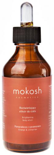 MOKOSH - BRIGHTENING BODY ELIXIR - ORANGE & CINNAMON - Rozświetlający eliksir do ciała - Pomarańcza z cynamonem - 100 ml