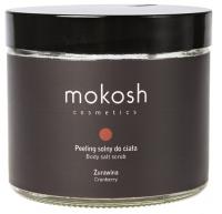 MOKOSH - BODY SALT SCRUB - CRANBERRY - Peeling solny do ciała - Żurawina - 300 g