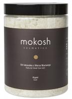 MOKOSH - NATURAL DEAD SEA SALT - BATH - Sól naturalna z Morza Martwego do kąpieli - 1000 g