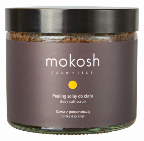 MOKOSH - BODY SALT SCRUB - COFFEE & ORANGE - 300 g