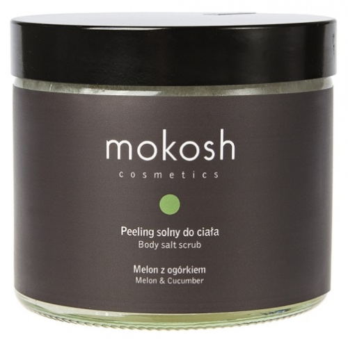 MOKOSH - BODY SALT SCRUB - MELON & CUCUMBER - 300 g