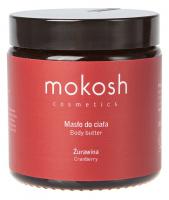 MOKOSH - BODY BUTTER - CRANBERRY - Masło do ciała - Żurawina - 120 ml