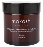 MOKOSH - REGENERATING ANTI-POLLUTION FACIAL CREAM - RASPBERRY - 60 ml