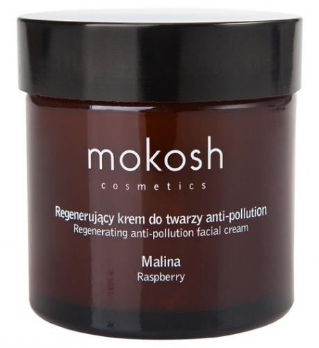 MOKOSH - REGENERATING ANTI-POLLUTION FACIAL CREAM - RASPBERRY - Regenerujący krem do twarzy - Malina - 60 ml