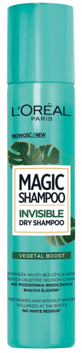 L'Oréal - MAGIC SHAMPOO - INVISIBLE DRY SHAMPOO - Suchy szampon - VEGETAL BOOST