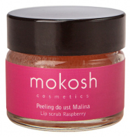 MOKOSH - LIP SCRUB - RASPBERRY - Peeling do ust - Malina - 15 ml
