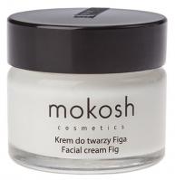 MOKOSH - FACIAL CREAM - FIG - Wygładzający krem do twarzy - Figa - 15 ml
