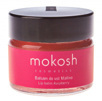 MOKOSH - LIP BALM - RASPBERRY - Balsam do ust - Malina - 15 ml