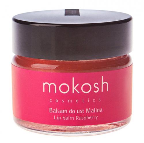 MOKOSH - LIP BALM - RASPBERRY - 15 ml