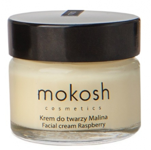 MOKOSH - FACIAL CREAM RASPBERRY - Regenerujący krem do twarzy - Malina - 15 ml