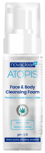 NovaClear - ATOPIS - Face & Body Cleansing Foam - Pianka do mycia twarzy