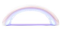 SUNONE - LED/UV LAMP - Lampa LED/UV - 36W - Biało-różowa