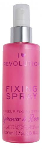I Heart Revolution - FIXING SPRAY - FIXING SPRAY - GUAVA & ROSE - Spray utrwalający makijaż o zapachu guawy i róży
