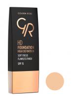 Golden Rose - HD FOUNDATION - HD DEFINITION - 103 - ALMOND - 103 - ALMOND