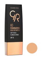 Golden Rose - HD FOUNDATION - HD DEFINITION - 107 - NATURAL - 107 - NATURAL