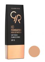 Golden Rose - HD FOUNDATION - HD DEFINITION - 111 - NATURAL TAN - 111 - NATURAL TAN