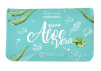 BARWA - BARWA NATURALNA - Aloe Vera SOAP - Bar soap