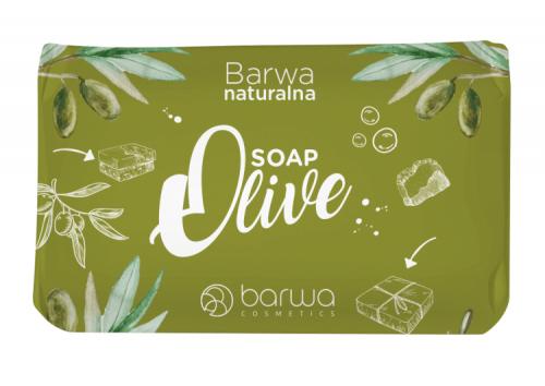 BARWA - BARWA NATURALNA - Olive SOAP - Mydło w kostce - Oliwkowe