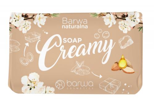 BARWA - BARWA NATURALNA - Creamy SOAP - Mydło w kostce - Kremowe