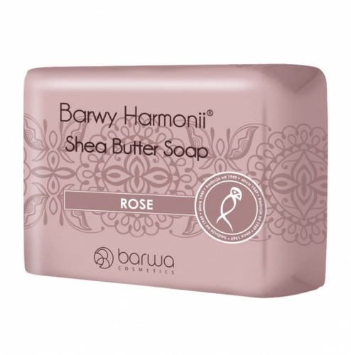COLOR - Shea Butter Soap - ROSE