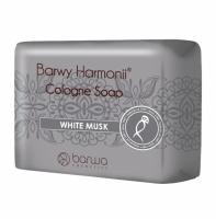 BARWA - BARWY HARMONII - Cologne Soap - WHITE MUSK - Piżmowe mydło w kostce