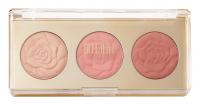 MILANI - ROSE POWDER BLUSH - TRIO PALETTE - Zestaw 3 róży do policzków - 01 FLOWERS OF LOVE